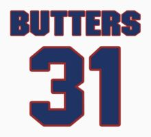 National baseball player Tom Butters jersey 31 by imsport