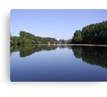 Peace on the Dordogne. Canvas Print