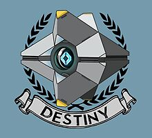 destiny ghost ensignia by orgith