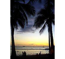 Hawaiian Sunset. Photographic Print