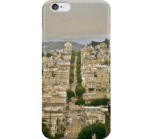 Lombardo Street View iPhone Case/Skin