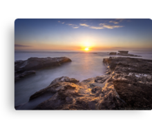 Caves Beach Sunrise - NSW Australia Canvas Print