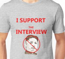 The Interview Supporter Protest Tee Unisex T-Shirt