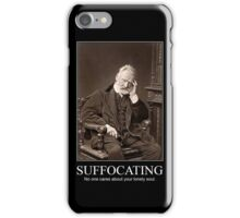 Artistic Misery Makes for Strange Bedfellows iPhone Case/Skin