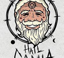 Hail Santa (Light Fabrics) by AhamSandwich