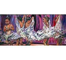 Little Ballerinas Photographic Print