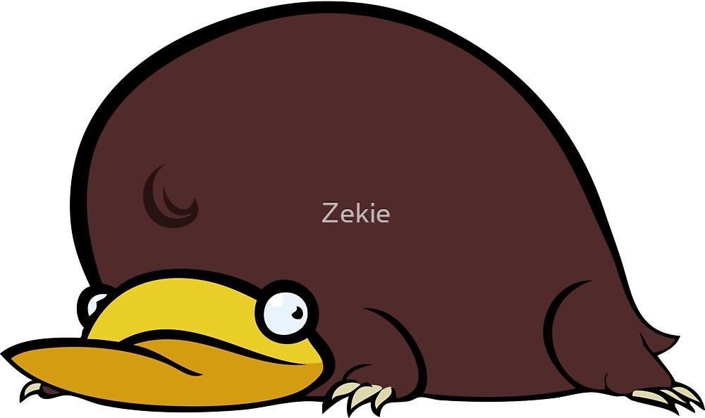 Platypus by Zekie
