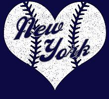 New York Yankees Baseball Heart  by stopshop