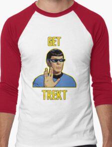 Get Trekt Men's Baseball ¾ T-Shirt