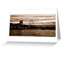 Capital View Greeting Card