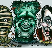 Movie Monsters by Kevin Middleton