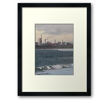 furnace Framed Print