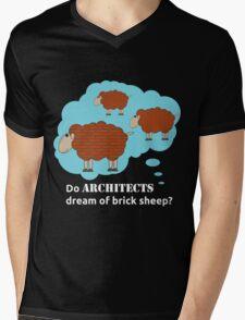 Do architects dream of brick sheep? Mens V-Neck T-Shirt