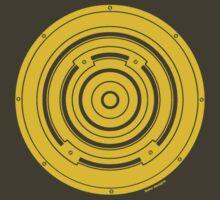 Mandala 37 Bass Yellow Fever by sekodesigns