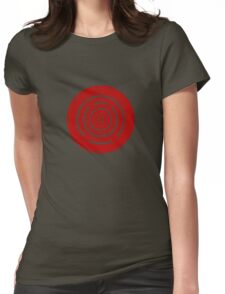 Mandala 37 Bass Colour Me Red Womens Fitted T-Shirt