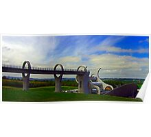 The Falkirk Wheel IV Poster