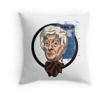 Third Lord of Time Throw Pillow