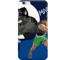 little mac and his werewolf form iPhone Case/Skin