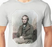 Young Charles Darwin Unisex T-Shirt