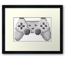 8Bit PS1 Controller Framed Print
