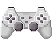 8Bit PS1 Controller Photographic Print
