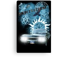 Supernatural theme 2 Canvas Print
