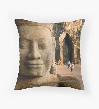 Naga bridge Throw Pillow