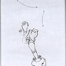 Petits Dessins Debiles - Small Weak Drawings#11 by Pascale Baud