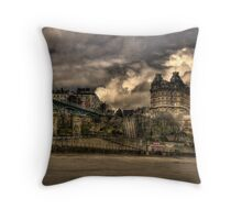 The Grand Hotel Throw Pillow