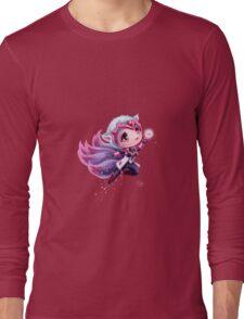 Chibi Challenger Ahri Long Sleeve T-Shirt