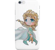 Chibi Snow Queen Elsa iPhone Case/Skin