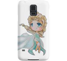 Chibi Snow Queen Elsa Samsung Galaxy Case/Skin