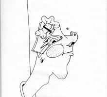 Petits Dessins Debiles - Small Weak Drawings#19 by Pascale Baud