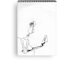 Petits Dessins Debiles - Small Weak Drawings#26 Canvas Print
