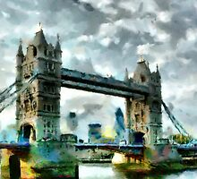 Tower Bridge, London - all products by Dennis Melling