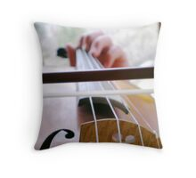 My Violin Throw Pillow