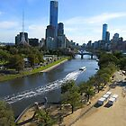 Melbourne - Yarra River. by iansimages