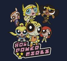 80s Power Girls Kids Clothes