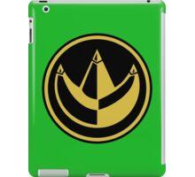 Green Ranger Coin iPad Case/Skin