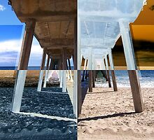 Quadrants of An Ocean Pier by Phil Perkins