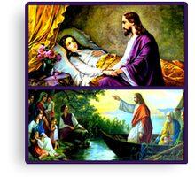 Josef Untersberger Religious Paintings Canvas Print
