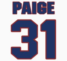 National baseball player Satchel Paige jersey 31 by imsport