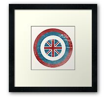 Cap UK Framed Print