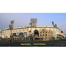 Tiger Stadium Photographic Print