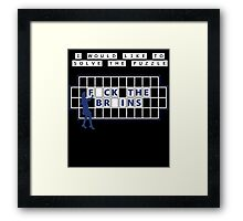 I would like to solve the puzzle Framed Print