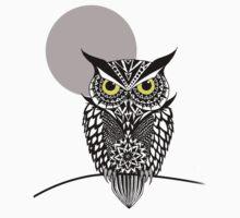 owl 1 One Piece - Short Sleeve