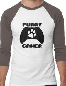Furry Gamer - Xbox One Men's Baseball ¾ T-Shirt