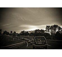 Traffic Lenticular Photographic Print