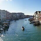 The Grand Canal in Winter Sun by CiaoBella