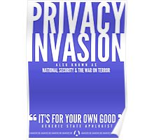 Privacy Invasion Poster